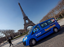 Super shuttle a Parigi